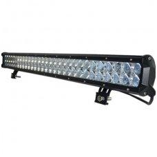 180W LED BAR 4D siauro - tolimo švietimo žibintas apatinio tvirtinimo 10-30V, 60 CREE LED, 710mm, 19800LM