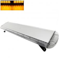 Įspėjamasis galingas LED oranžinis švyturėlis 12V-24V 150 cm