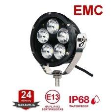 LED apvalus sertifikuotas žibintas 50W 5000LM 12-24V (E13 00 HR PL) FLOOD