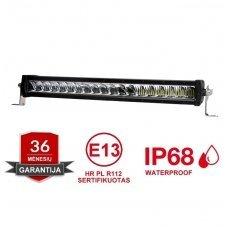 LED BAR sertifikuotas žibintas 120W 12000LM 12-24V (E9 HR PL) COMBO 36cm