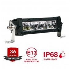 LED BAR sertifikuotas žibintas 60W 6000LM 12-24V (E9 HR PL) FLOOD