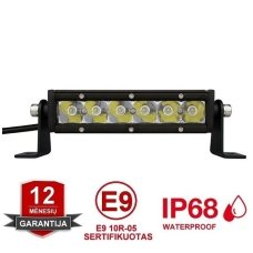 MINI LED BAR žibintas 30W 12-24V FLOOD 19cm