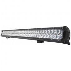 288W LED BAR 4D siauro - tolimo švietimo žibintas apatinio tvirtinimo 10-30V, 96 CREE LED, 1150mm, 31000LM