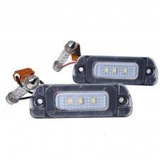 2x LED Mercedes - Benz GL ML R numerio apšvietimo lemputės