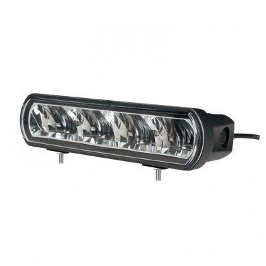 2x LED BAR sertifikuoti žibintai OSRAM-CRDP 2x40W 2x3135LM 12-24V (E9 HR PL) COMBO 2x22cm 6