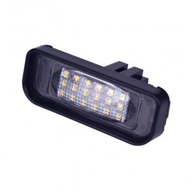 2x LED MB W220 99-05 S-class 18 SMD 3w/12v numerio apšvietimo lemputės 5