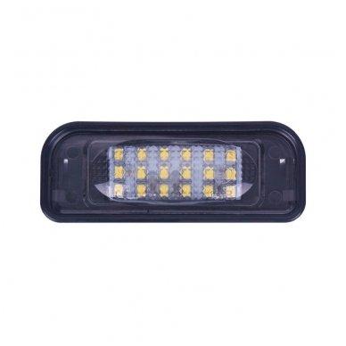 2x LED MB W220 99-05 S-class 18 SMD 3w/12v numerio apšvietimo lemputės 3
