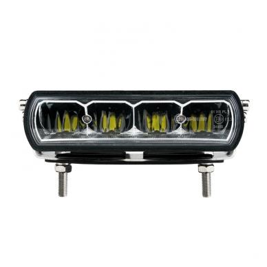 2x MINI LED BAR sertifikuoti žibintai OSRAM-CRDP 2x20W 2x1515LM 12-24V (E9 HR PL) COMBO 2