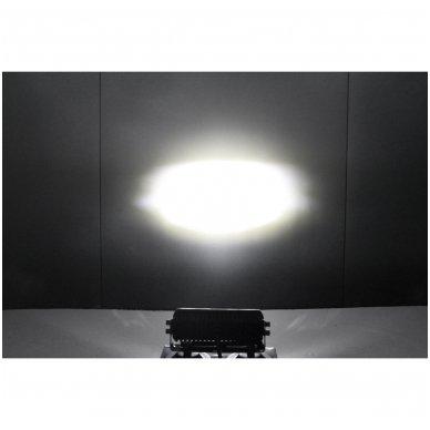 2x LED BAR sertifikuoti žibintai OSRAM-CRDP 2x40W 2x3135LM 12-24V (E9 HR PL) COMBO 10