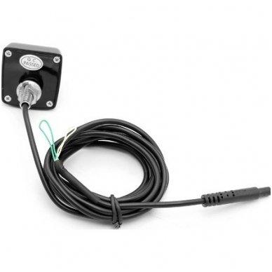 Automobilio priekio / galo vaizdo kamera įleidžiama - su atstumo rėmeliu chromuota 4