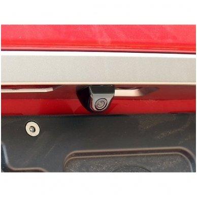 Automobilio priekio / galo vaizdo kamera įleidžiama - su atstumo rėmeliu chromuota 8