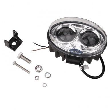 EMC LED raudonas autokrautuvo saugos - žemės ūkio purkštuvo žibintas 10-30V E13, 10R-04 8