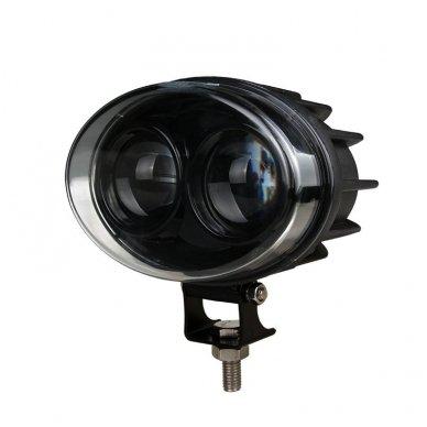 EMC LED raudonas autokrautuvo saugos - žemės ūkio purkštuvo žibintas 10-30V E13, 10R-04 3