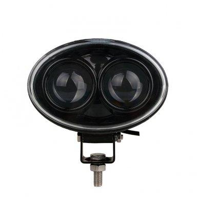 EMC LED raudonas autokrautuvo saugos - žemės ūkio purkštuvo žibintas 10-30V E13, 10R-04 9