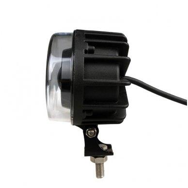 EMC LED raudonas autokrautuvo saugos - žemės ūkio purkštuvo žibintas 10-30V E13, 10R-04 10
