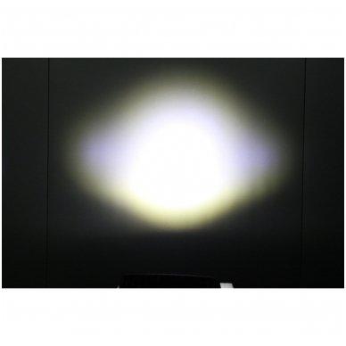 EMC SLIM LED plataus švietimo darbo žibintas 15W, 9-32V, 5 LED 7