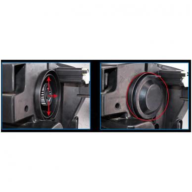 """H3 MINI CAN-BUS """"Philips ZES"""" +300% LED sistema 12V-24V 6500LM 10"""