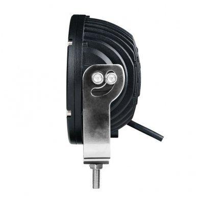 LED apvalus sertifikuotas žibintas 50W 5000LM 12-24V (E13 00 HR PL) FLOOD 50* 12