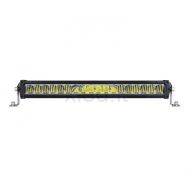 LED BAR sertifikuotas žibintas 240W 24000LM 12-24V (E9 HR PL) COMBO 3