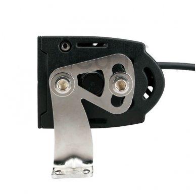LED BAR sertifikuotas žibintas 400W 40000LM 12-24V (E9 HR PL) COMBO 9