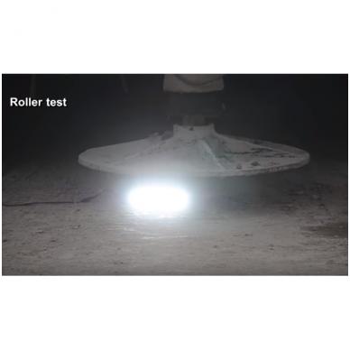 LED BAR sertifikuotas žibintas 400W 40000LM 12-24V (E9 HR PL) COMBO 18
