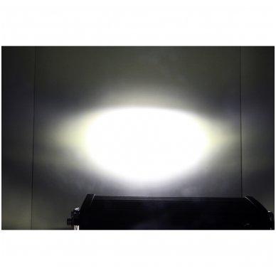 LED BAR sertifikuotas žibintas 500W 50000LM 12-24V (E9 HR PL) COMBO 135cm 16