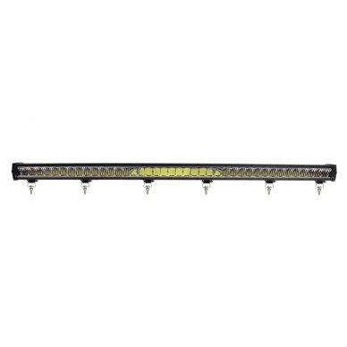 LED BAR sertifikuotas žibintas 500W 50000LM 12-24V (E9 HR PL) COMBO 6
