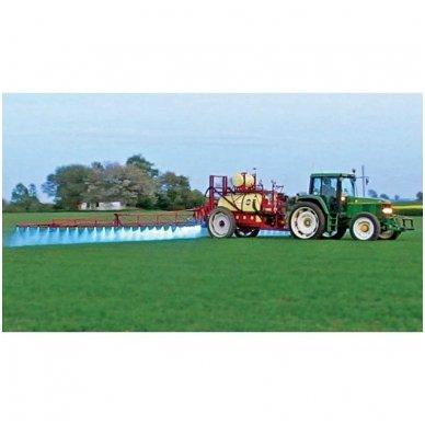 EMC LED raudonas autokrautuvo saugos - žemės ūkio purkštuvo žibintas 10-30V E13, 10R-04 6
