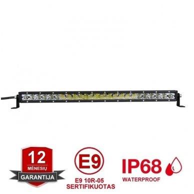 MINI LED BAR žibintas 180W 12-24V (E9 10R) SPOT