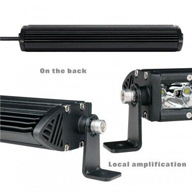 MINI LED BAR žibintas 90W 12-24V (E9 10R) SPOT 4