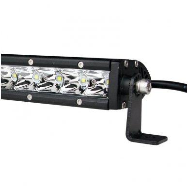 MINI LED BAR žibintas 30W 12-24V FLOOD 19cm 6