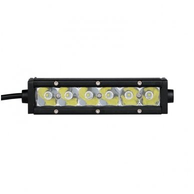 MINI LED BAR žibintas 30W 12-24V FLOOD 19cm 7