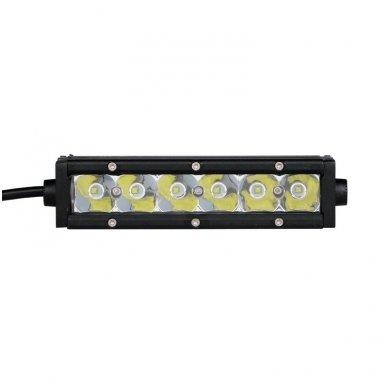 MINI LED BAR žibintas 30W 12-24V FLOOD 19cm 7
