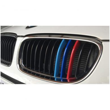 3D BMW 3 serijos E90/E91 M-Tech grotelių apdaila 09-12 3