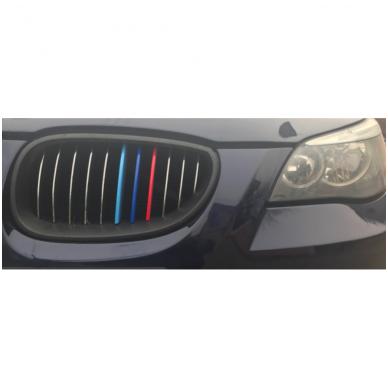 3D BMW 5 serijos E60 M-Tech grotelių apdaila 04-10 2