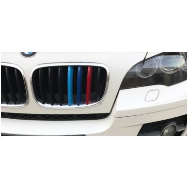 3D BMW X5/X6 E70/E71 M-Tech grotelių apdaila 3