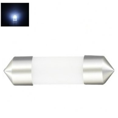 3D LED lemputė C5W / F10 36mm 12 SMD X-treme balta 6000K