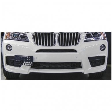 """4-ių įleidžiamų pilkos spalvos jutiklių parkavimo sistema """"EAGLE"""" su LED ekranu 3"""