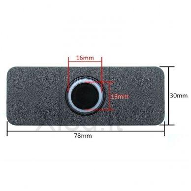 """4-ių įleidžiamų pilkos spalvos jutiklių parkavimo sistema """"EAGLE"""" su LED ekranu 9"""
