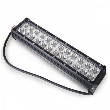 XLED 72W LED BAR žibintas apatinio tvirtinimo COMBO 30cm 8