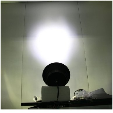 """7"""" LED HIGH/LOW + DRL priekinis sertifikuotas žibintas 15"""