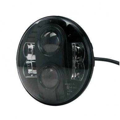 """7"""" LED HIGH/LOW + DRL priekinis sertifikuotas žibintas 2"""