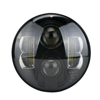 """7"""" LED HIGH/LOW + DRL priekinis sertifikuotas žibintas"""