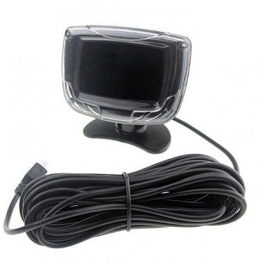 """8-ių juodų daviklių parkavimosi sistema priekiui ir galui su laidiniu LCD ekranu """"EAGLE"""" 10"""