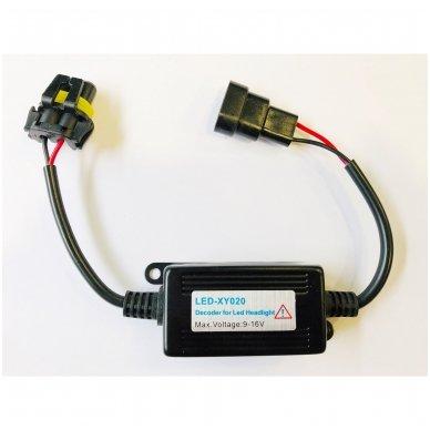 9005, HB3 / 9006, HB4 CAN-BUS lemputėms skaitmeninis klaidų naikintojas 55w 2