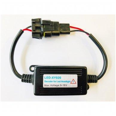9005, HB3 / 9006, HB4 CAN-BUS lemputėms skaitmeninis klaidų naikintojas 55w 3