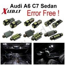 Audi A6 C7 Sedan LED salono apšvietimo lempučių komplektas