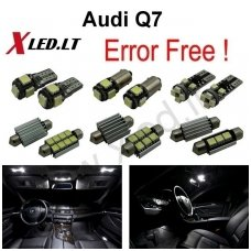 Audi Q7 LED salono apšvietimo lempučių komplektas