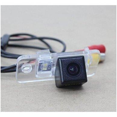 AUDI galinio vaizdo kamera numerio apšvietimas su atstumo rėmeliu 6
