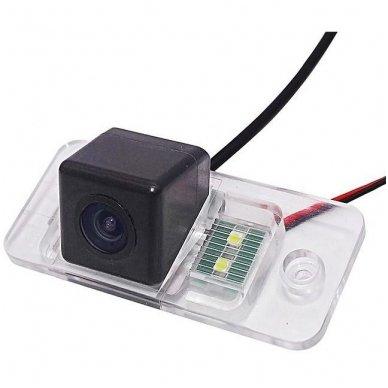 AUDI galinio vaizdo kamera numerio apšvietimas su atstumo rėmeliu 3
